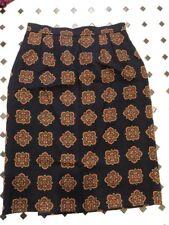 Vintage Yves Saint Laurent Wool Kilt Wrap Skirt 1970s Rive Gauche Paris Plaid S