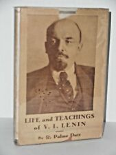 Life and Teachings of V. I. Lenin by R. Palme Dutt 1934