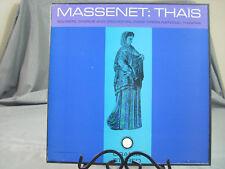 "Jules Massenet-Thais-Urania Records Box Set-12"" LP Vinyl Record Classical"