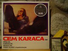 CEM KARACA 'NIN APASLAR/KARDASLAR/MOGOLLAR/FERDY KLEINE LP/1974 Turkish Rock