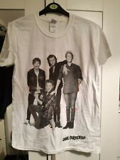 ONE DIRECTION GROUP PHOTO T SHIRT. OFFICIAL MERCHANDISE FROM 2015 TOUR!