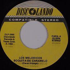 LOS MELODICOS: Boquita De Caramelo USA DISCOLANDO Latin 45 NM-