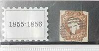 Portugal 1855-1856 D. Pedro V  5 Reis