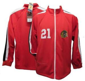 New 1971-72 Stan Mikita #21 Chicago Blackhawks Mens Mitchell & Ness Jacket
