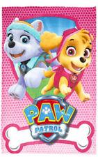 PAW Patrol Pink Force Fleece Throw Blanket Extra Soft Coral Design (100x150)cm
