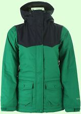 HOLDEN Women's LOUISA Snow Jacket  - Ultramarine / Green Peacoat - Medium - NWT
