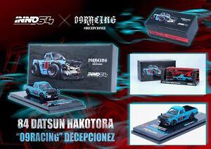 "1:64 Nissan Sunny ""Hakotora"" Pickup Truck -- 09RACING DECEPCIONEZ -- INNO64"