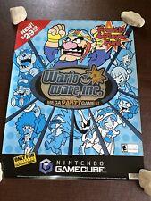 Vintage 2004 Nintendo GameCube Wario Ware Inc ToysRus Store Display Sign Poster