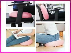 Ergonomic Hip Posture Corrector Dual Comfort Cushion Lift Hips Up Seat Cushion
