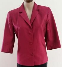 Polyester Button-Down Solid Coats & Jackets for Women