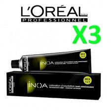Inoa L'Oreal Tintura Senza Ammoniaca Professionale 60 ml - 3 Pezzi