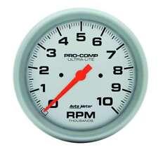 "Auto Meter 4498 Gauge Tachometer 5"" 10,000 RPM In-Dash Ultra-Lite"