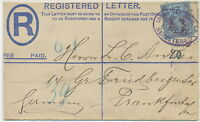 2447 1893 superb QV 2 D PS registered env like Huggins RP18F uprated NOT LISTED