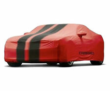 2010-2015 Chevrolet Camaro Coupe Outdoor Car Cover 92215993 Red w/ Black Stripes