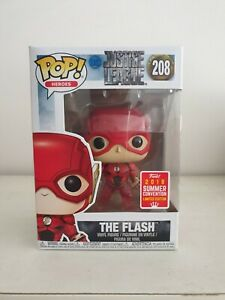 Funko pop DC - JUSTICE LEAGUE - The Flash 2018 Summer Convention  .