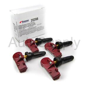New Schrader 20398 TPMS Sensor Set 433 mhz 2012 2013 2014 Dodge Challenger