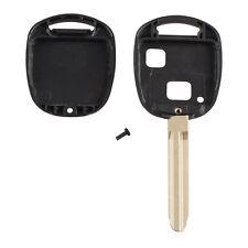 1pc New Universal Toyota 2 keys straight key Black shell Camry Prado Yaris RAV4