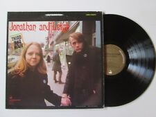 JONATHAN AND LEIGH Third And Main LP ITALY COMET PSYCH FOLK ROCK