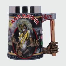 More details for iron maiden the killers 15.5cm tankard