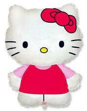 Hello Kitty Shaped Supershape Foil Balloon - Pink Dress