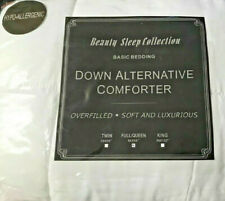 "Brand New Beauty Sleep Collection-Down Alternative Comforter-Full/Queen 86""x86"""