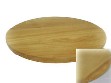 Round circular wooden chopping board cutting serving pizza solid wood 16 inches