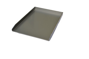 Edelstahl Grillplatte Burgerplatte Plancha aus V2A - verschieden Größen