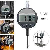 Digital Précision Outil 0.01mm Mesure Comparateur Indicateur à Cadran Jauge Test