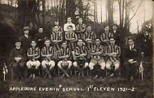 Appledore Evening School 1st Eleven 1921-2.