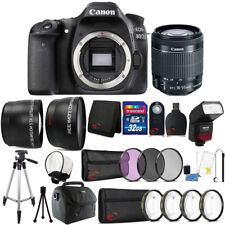 Canon EOS 80D Digital SLR Camera with 18-55mmLens , TTL Flash and Accessory Kit