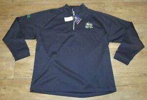 Champion Notre Dame Fighting Irish 1/4 Zip Therma Jacket size Men's 2XL