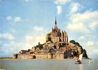 BR14001 Vue generale Le Mont Saint Michel  france