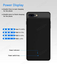 External Battery Case for iPhone 6 7 8 Plus Charging Power Cover Best Quality UK