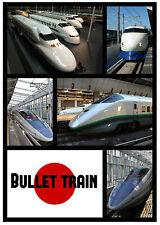 BULLET TRAIN (JAPAN) - SOUVENIR NOVELTY FRIDGE MAGNET - BRAND NEW