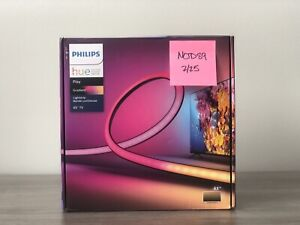 """BRAND NEW Philips Hue Play Gradient Lightstrip 65"""" *IN HAND, FREE SHIPPING*"""