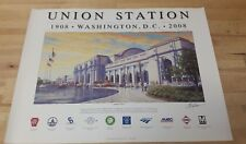 Washington Union Station 100 years  24x18 Poster Print  J Craig Thorpe Art  NIP
