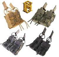 HSGI 11M402-MOLLE or BELT 40mm Taco Double-Multicam-Coyote-Olive-Black-Wolf Grey