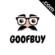 GOOFBUY.com 7 Letter Premium Short .Com Marketable Domain Name