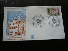 ANDORRE (francais) - enveloppe 1er jour 6/9/1980 (architecture) (cy63) andorra(Y