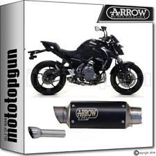 ARROW EXHAUST DBK GP2 GP 2 BLACK KAWASAKI Z650 Z 650 2017 17