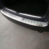 For Honda CRV 2012 2013 2014 Stainless Exterior Rear Bumper Protector Guard Trim