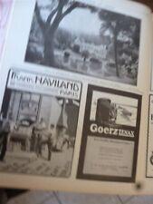 HAVILAND +GOERTZ + château de NACQUEVILLE publicité papier ILLUSTRATION 1914