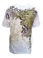 Konflic Golden Lion  World Atlas Designer MMA Muscle  T-shirt