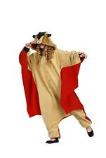 Funsies Kigurumi Skippy Flying Squirrel Fleece Jumpsuit Costume Adult One Size