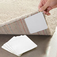 4x Double-sided Self Adhesive Carpet Stickers Anti-slip Non-woven Rug Pads Tape
