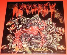 Autopsy: Mental Funeral LP Vinyl Record 2010 Peaceville Germany VILELP25 NEW