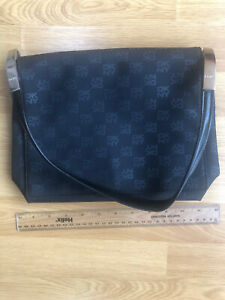 dkny monogram shoulder bag Used