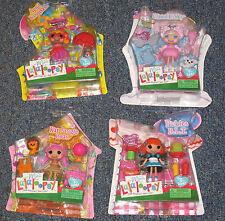 4 Mini Lalaloopsy Dolls *NEW!*  APRIL SUNSPLASH Cloud E Sky PICKLES & Kat & Pets