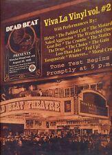 DEAD BEAT viva la vinyl vol 2 US EX LP PUNK