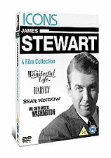James Stewart 4 film collection 4 discs Wonderful life/Harvey/R.Window/Mr Smith